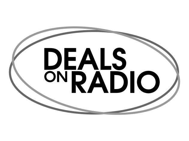 Deals on Radio_Large_Black on White