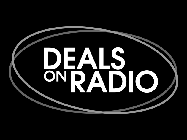 Deals on Radio_Large_White on Black